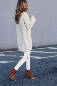 30 Chic Fall / Winter Outfit Ideas – Street Style Look. - Street Fashion, Casual Style, Latest Fashion Trends - Street Style and Casual Fashion Trends Looks Chic, Looks Style, Style Me, Fall Winter Outfits, Autumn Winter Fashion, Winter Style, Casual Winter, Winter Wear, Mode Outfits