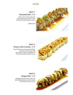 Awesome vegan sushi ideas from a vegan sushi restaurant. Must make vegan food pilgrimage to LA!