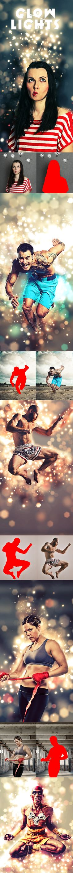 #Glow #Lights Photoshop Action - #Actions #PSAction #Photoshop #PS…