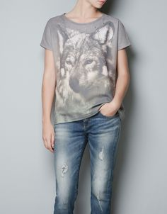 SWEAT ANIMAUX - T-shirts - TRF - ZARA France