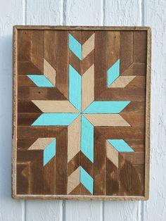 Wall Art Wood diy native american artwork using scraps of wood and different