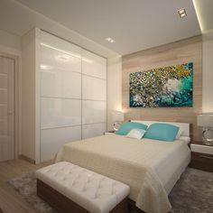 Дизайн-проект спальни, портфолио, примеры готовых проектов.
