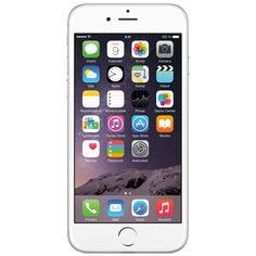 iPhone 6 16 GB (valkoinen/hopea)