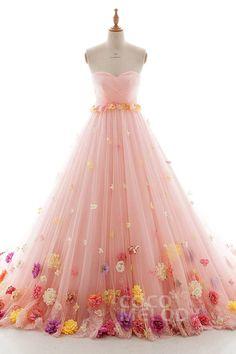 Wedding Dresses For Girls, Beautiful Prom Dresses, Elegant Dresses, Pretty Dresses, Formal Dresses, Pretty Quinceanera Dresses, Princess Ball Gowns, Fairy Dress, Fantasy Dress