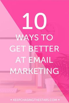 Getting started with email marketing takes time and persistence, but the payoff usually comes much sooner. The best part of email marketing? You own your list. Try a few of these tips to step your email game up.