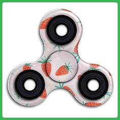 Absolute Best Hand Spinner Game Toy Pink Strawberry Fidget Spinners Stress Reliever High-Speed EDC Focus Toy For Anxiety ADHD - Fidget spinner (*Amazon Partner-Link)