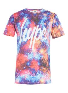 Hype Printed Space T-Shirt* - Hype - Brands - TOPMAN
