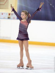 Elena Radionova! So cute and love her dress