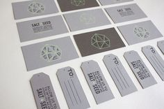 Unique Business Card, Salt + Seed @johncantrell #BusinessCards #Design (http://www.pinterest.com/aldenchong/)