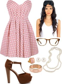 """""""blush pearls"""" by deschae on Polyvore"""