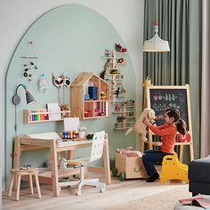 Decoración de interiores y exteriores, decora tu casa - HOLA Interior Exterior, Kids Rugs, Baby, Home Decor, House Decorations, Interiors, Decoration Home, Kid Friendly Rugs, Room Decor