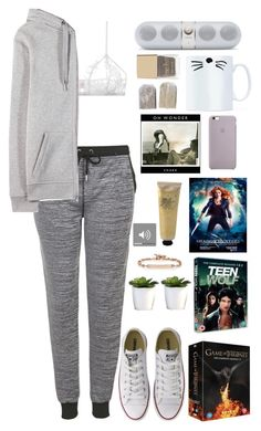 """""""Rosie's chill out"""" by t-k-amie on Polyvore featuring Topshop, Only Hearts, T By Alexander Wang, The Body Shop, Converse, Hoorsenbuhs, women's clothing, women's fashion, women and female"""