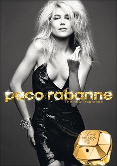 Lady Million de Paco Rabanne – Abre com Laranja amarga com toque de framboesa e segue para notas de neroli com flor de laranja, jasmim e gardênia sobre base de patchouli, mel e âmbar.