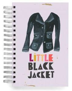 JOURNALS :: Jumbos :: Little Black Jacket - Ecojot - eco savvy paper products