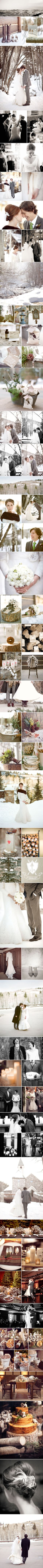 so many gorgeous details! {Winter Wonderland