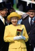 June 1, 1994 Queen Elizabeth II at The Epsom Derby