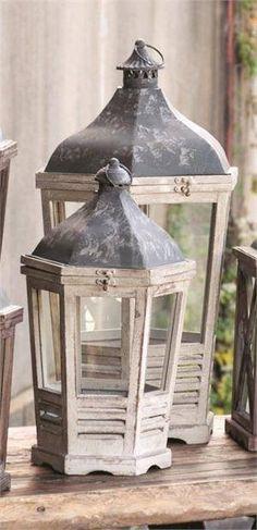 Old - Shabby Chic - Lanterns
