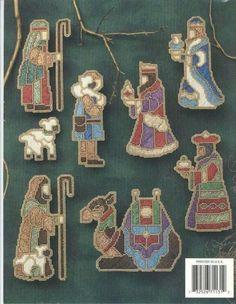 Beaded Nativity Ornaments 2/10