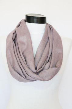 lilac  Infinity  pashmina scarf by salihadilber on Etsy, $15.50
