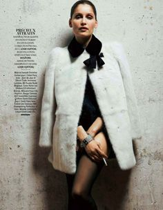 Laetitia Casta for Madame Figaro