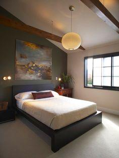Asian Peaceful Bedroom Design Idea