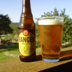 Ranger IPA, New Belgium Brewing Co., Fort Collins, CO. Because it was just to nice to be drinking Ice Tea on the patio!