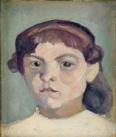 bofransson:  Ivan Agueli-Portrait of a Girl