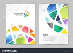 Abstract brochure or flyer design template. Template Flyer, Flyer Design Templates, Templates Printable Free, Template Brochure, Design Brochure, Library Logo, Flyer Printing, Composition Design, Abstract Images