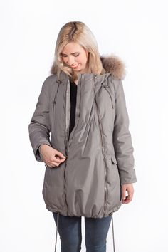 8ba25a035be4 26 Best Winter Maternity Coats images