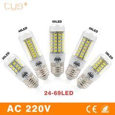 Ikeacasa, LED Lamp E27 5730 SMD 220V Lampada LED Bulb Corn Light 24 30 38 48 56 69LEDs Bombillas LED Light Luz Spot light Lighting Bulb //Price: $1.67 & FREE Shipping //     #family #decoration #cute