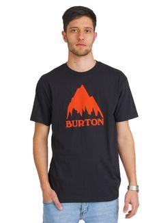 BURTON MOUNTAIN LOGO T-SHIRT BLACK www.fourseasonsclothing.de  #burton #tshirt #t-shirt #new #streetwear