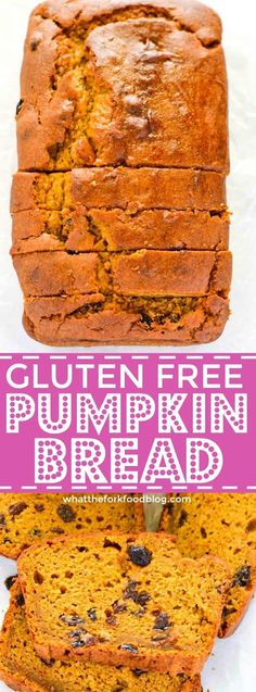 If you love pumpkin bread, but can't have gluten, you will want to make this wonderful fall favorite gluten-free recipe!