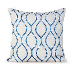 Found it at Wayfair - Illuminate Burlap Throw Pillow