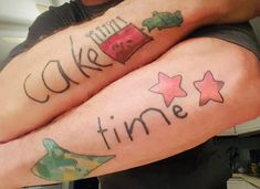 We couldn't help but notice a CMNH guest's unique tattoos today. They are drawings his children made that are now tattooed on his arms. Unique Tattoos, Fish Tattoos, Arms, Children, Drawings, Fun, Instagram, Young Children, Arm