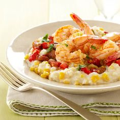 ... images about Surf on Pinterest | Shrimp, Corn grits and Shrimp ceviche