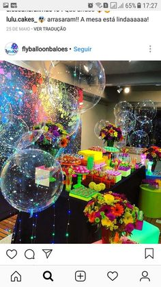 Super Party Themes For Teen Girls Sweet 16 Ideas Birthday Cakes Ideas - Party Ideen 18th Birthday Party Themes, Neon Birthday, Birthday Party For Teens, Birthday Cakes, Birthday Ideas, 16th Birthday, Disco Party Decorations, Halloween Decorations, Party Time