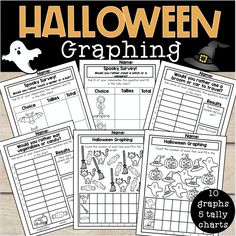 Tally charts, bar graphs, graphing skills, endless fun! Your students will love your math block when you introduce these!