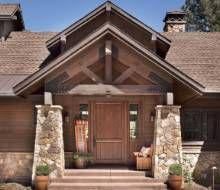 Because It Snows In Flagstaff The Roofs Have A Steep Pitch Notes Architect Michael Higgins Lower Roofs Are Standing Seam Met Phoenix Homes Home House Styles