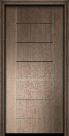 Order this Mahogany Wood Exterior door Single Door is an ideal fit for your house Flush Door Design, Single Door Design, Wooden Front Door Design, Main Entrance Door Design, Modern Wood Doors, Modern Exterior Doors, Contemporary Doors, Pooja Room Door Design, Bedroom Door Design