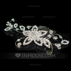 Headpieces - $23.69 - Special Alloy Hair Combs (042041703) http://jjshouse.com/Special-Alloy-Hair-Combs-042041703-g41703