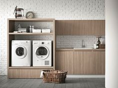 IDROBOX Mobile lavanderia per lavatrice by Birex