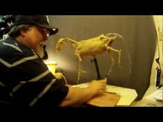 This man is amazing!!  Sculpting Tutorial - Creating A Horse For Geronimo - The First Clay - YouTube