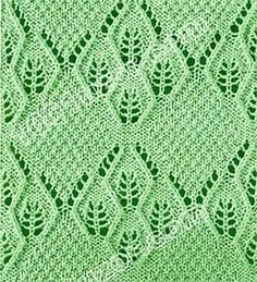 Tons of beautiful knit stitch patterns on this site. Some include charts. In Russian.