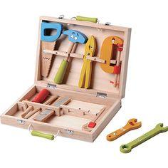מזוודת כלי עבודה מעץ
