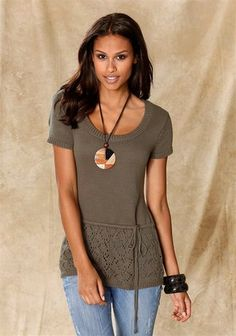 Pullover V Neck, T Shirts For Women, Clothes, Beauty, Tops, Fashion, Outfits, Moda, Clothing