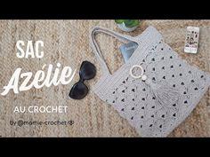 YouTube Lidia Crochet Tricot, Crochet Hats, Youtube Crochet, Crochet Earrings, Tote Bag, Totes, Making Purses, Crochet Patterns, How To Make