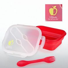 Lunch Container w/ Silverware - Apple: Thanks for All You Do at Baudville.com  http://www.baudville.com/gifts-and-recognition-awards/bags/cooler-bags/lunch-container-with-silverware-apple-thanks-for-all-you-do/productinfo/114/111/71910