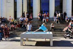 Mobilier urbain : qui veut jouer au billard de rue ? - Influencia