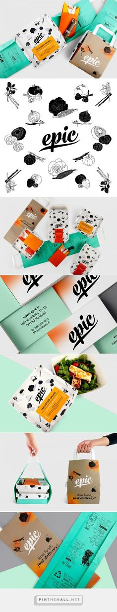 Epic Food Branding and Packaging by Karo Konieczna