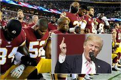 Jugadores de NFL, NBA y MLB están en guerra con Donald Trump #Deportes #Ultimas_Noticias